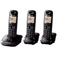 Panasonic KX-TG2513ET DECT Cordless Telephone - Triple Pack