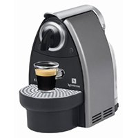 Krups XN2125 Nespresso Essenza Titanium Coffee Machine