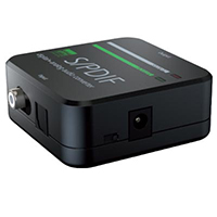S/PDIF Digital Audio Converter (DAC) & Leads