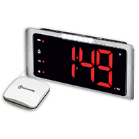 Amplicomms TCL410 Radio Controlled Digital Extra Loud Alarm Clock