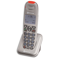 Amplicomms PowerTel 2701 Big Button Amplified Cordless DECT Phone Handset