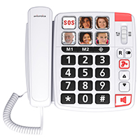 Swissvoice Xtra 1110 Amplified Big Button Telephone with Programmable Photo Buttons