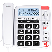 Swissvoice Xtra 1150 Amplified Big Button Telephone with Large Display