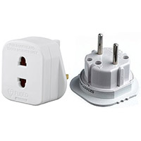 European Travel Adapter Kit