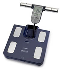 Omron BF511 Family Body Composition Monitor - Blue
