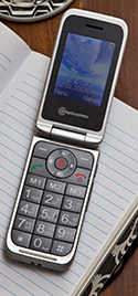 Amplicomms PowerTel M7000 Amplified Clamshell Mobile Phone