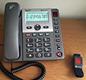Amplicom PowerTel 97 Wireless Emergency Alarm Telephone